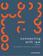 Connecting with Law + Statutory Interpretation + Aus Public Law + Aus Law Dictionary : 2nd Edition - Michelle Sanson