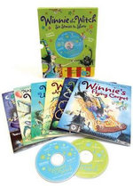Winnie the Witch 6 Stories to Share & 2 CDs - Valerie Thomas
