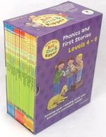 Read with Biff, Chip & Kipper : Phonics and First Stories Levels 4 - 6