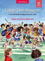 Fiddle Time Runners + CD : A Second Book of Easy Pieces for Violin - Kathy Blackwell