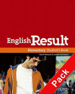 English Result Elementary: Student's Book with DVD Pack : General English Four-skills Course for Adults - Mark Hancock