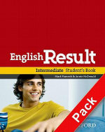 English Result Intermediate: Student's Book with DVD Pack : General English Four-skills Course for Adults - Mark Hancock