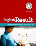 English Result Upper-intermediate: Student's Book with DVD Pack : General English Four-skills Course for Adults - Mark Hancock