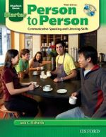 Person to Person : Student Book (with Student Audio CD) Starter level - Professor Jack C Richards