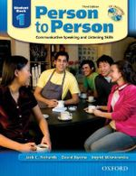 Person to Person, Level 1 : Student Book (with Student Audio CD) - Jack C. Richards