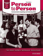 Person to Person : Teacher's Book Level 2 - Jack C. Richards