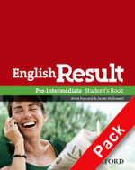 English Result Pre-intermediate: Teacher's Resource Pack with DVD and Photocopiable Materials Book : General English Four-skills Course for Adults - Mark Hancock