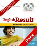 English Result Intermediate: Teacher's Resource Pack with DVD and Photocopiable Materials Book : General English Four-skills Course for Adults - Mark Hancock