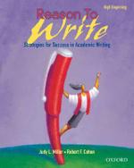 Reason to Write : High Beginner: Student Book - Judy L. Miller