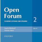 Open Forum 2 : Audio CDs (3) - Angela Blackwell