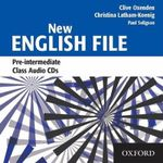 New English File : Class Audio CDs Pre-intermediate level - Clive Oxenden