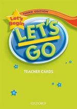 Let's Begin : Teacher's Cards - Ritsuko Nakata
