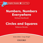 Dolphin Readers : Level 2: Numbers, Numbers Everywhere & Circles and Squares Audio CD - BROOKE