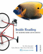 Inside Reading 1 : Student Pack - Arline Burgmeier