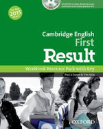 Cambridge English First Result : Workbook + Key & Student CD-ROM Pack - Paul A Davies