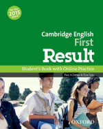 Cambridge English First Result : Student's Book & Online Skills Practice Pack - Paul A Davies