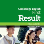 Cambridge English : First Result: Class Audio CDs - Paul A Davies