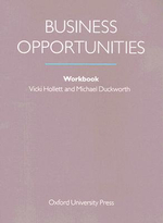 Business Opportunities : Workbook - Vicki Hollett