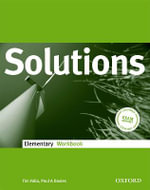 Solutions Elementary : Workbook - Tim Falla
