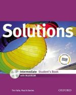Solutions Intermediate : Student's Book with MultiROM Pack - Tim Falla