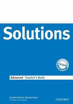Solutions Advanced : Teachers Book - Caroline Krantz