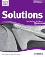 Solutions : Intermediate: Workbook and Audio CD Pack - Jane Hudson
