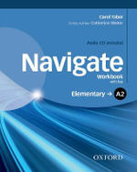 Navigate : Elementary A2: Workbook with CD (with Key) - Jake Hughes