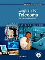 Express Series: English for Telecoms Student's Book and Multirom Pack: Student's Book and MultiROM Pack : A Short, Specialist English Course - Tom Ricca-McCarthy