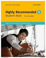 Highly Recommended: Student's Book: Student Book : English for the Hotel and Catering Industry - Trish Stott
