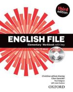 English File : Elementary: Workbook with Key and iChecker - OXENDEN ET AL