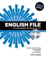 English File : Pre-intermediate: Workbook with Key and iChecker - OXENDEN ET AL