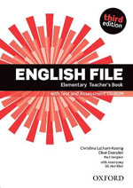 English File : Elementary: Teacher's Book with Test and Assessment CD-ROM - OXENDEN ET AL