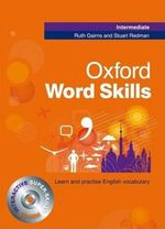 Oxford Word Skills Intermediate : Student's Pack (book and CD-ROM) - GAIRNS