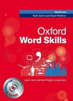 Oxford Word Skills Advanced : Student's Pack (Book and CD-ROM) - Ruth Gairns