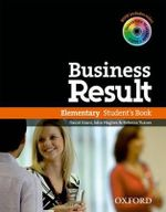 Business Result : Elementary: Student's Book with Interactive Workbook (including Video), on DVD-ROM or Online - OXFORD