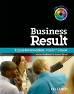 Business Result : Upper-intermediate: Student's Book with DVD-ROM and Interactive or Online Workbook - OXFORD