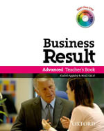Business Result DVD Edition: Advanced: Teacher's Book Pack : Business Result DVD Edition Teacher's Book with Class DVD and Teacher Training DVD - OXFORD