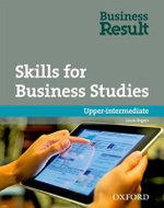 Business Result DVD Edition: Upper-intermediate: Skills for Business Studies Pack : A Reading and Writing Skills Book for Business Students - OXFORD