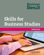 Business Result DVD Edition: Advanced: Skills for Business Studies Pack : A Reading and Writing Skills Book for Business Students - OXFORD