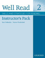 Well Read 2 : Instructor's Pack - Mindy Pasternak