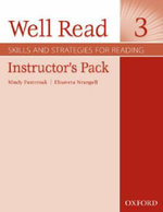 Well Read 3 : Instructor's Pack - Mindy Pasternak