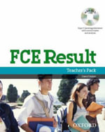 FCE Result : Teacher's Pack Including Assessment Booklet with DVD and Dictionaries Booklet - Paul A. Davies