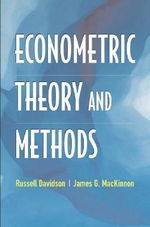 Econometric Theory and Methods - Russell Davidson