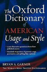 The Oxford Dictionary of Usage and Style - Bryan A. Garner