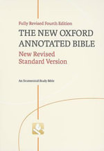 New Oxford Annotated Bible-NRSV : New Revised Standard Version, An Ecumenical Study Bible - COOGAN