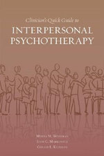 Clinician's Quick Guide to Interpersonal Psychotherapy - Myrna M. Weissman