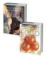The Oxford Companion to Food and the Oxford Companion to Wine Set : 2-Volume Set - Alan Davidson