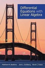 Differential Equations with Linear Algebra : Statics - Matthew R. Boelkins