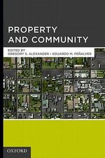 Property and Community - Gregory S. Alexander