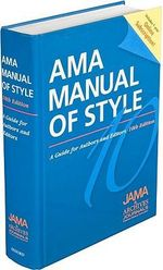 AMA Manual of Style: A Guide for Authors and Editors : Special Online Bundle Package - JAMA